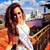 Miss Nicaragua 2014, Marline Barberena con niños de Estelí.