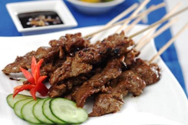 Cow sweet satai. Nusantara Culinary