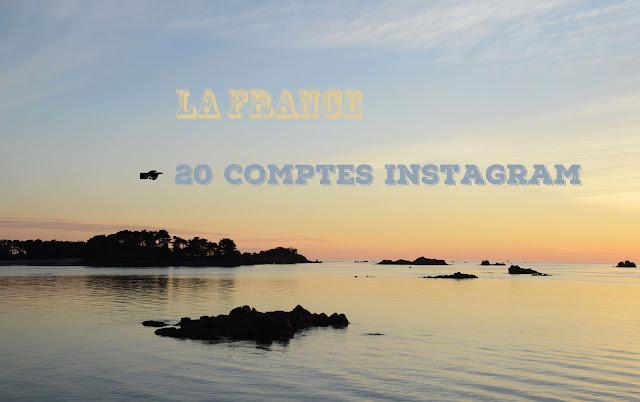 La France, en 20 comptes Instagram