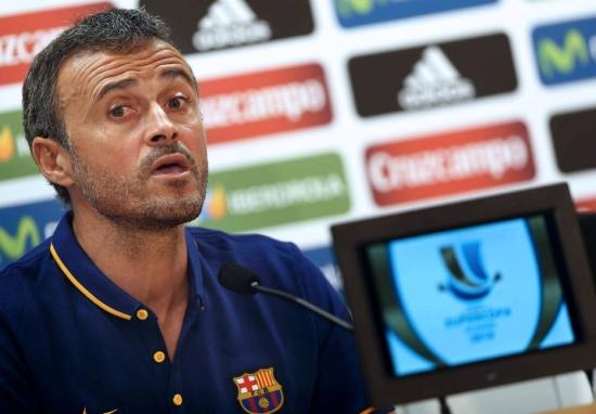 Luis Enrique acredita que Barcelona pode reverter em decisão da Supercopa
