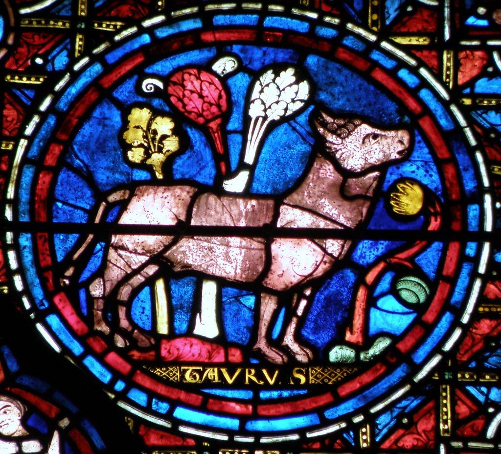 Imagenes del Zodiaco, Vitrales Zodiacales