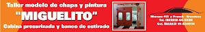 TALLER MODELO DE CHAPA Y PINTURA
