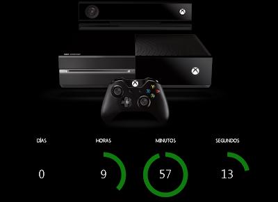 En menos de 10h sale la nueva Xbox ONE
