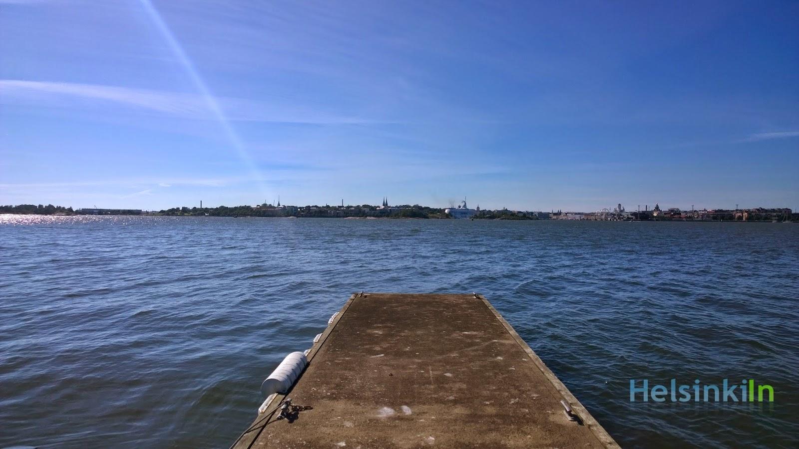 view towards Helsinki