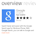 Google for Windows phone
