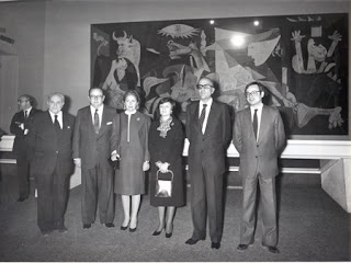 Inaugutación de la exposición del Guernica en el Casón del Buen Retiro