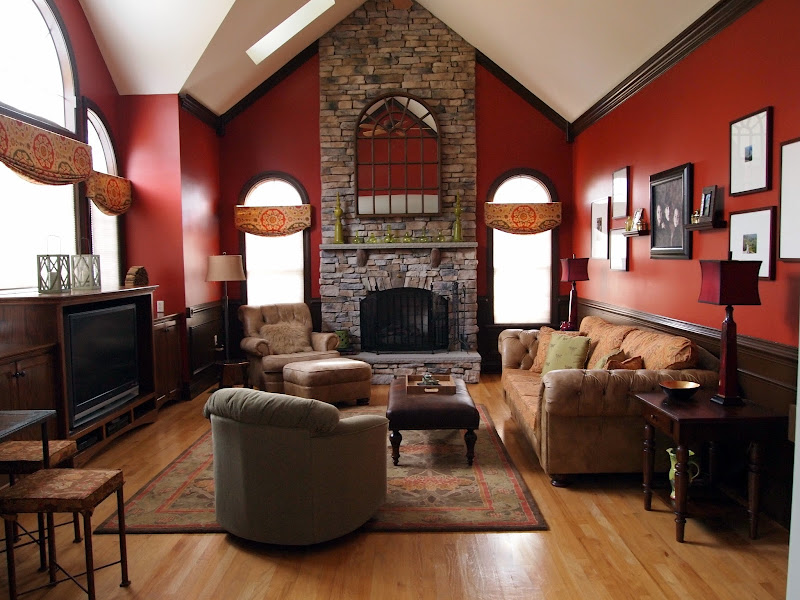 Two Ideas For Two Story Family Rooms title=