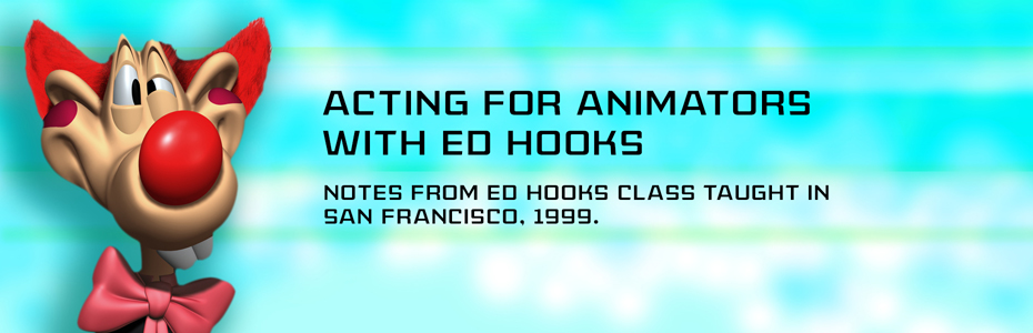 Acting For Animators with Ed Hooks - Thinking Animation - Angie Jones