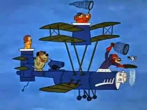 ... dos Malucos das Máquinas Voadoras
