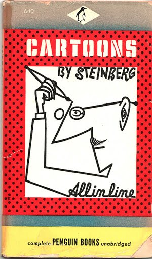 ALL IN A LINE Cartoons by Saul Steinberg