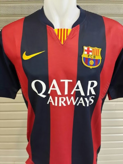 Jersey Barcelona Home 2014-2015 Leaked