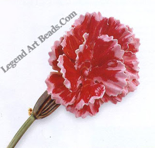 Robert Enamel Flower Pin