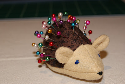 Cute Little Hedgehog Pin Cushion