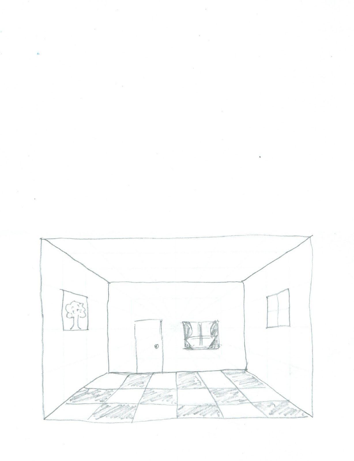 Open door drawing perspective - Basic Drawing Skills Six Weeks Of Lesson Ideas Half A Hundred Acre Wood