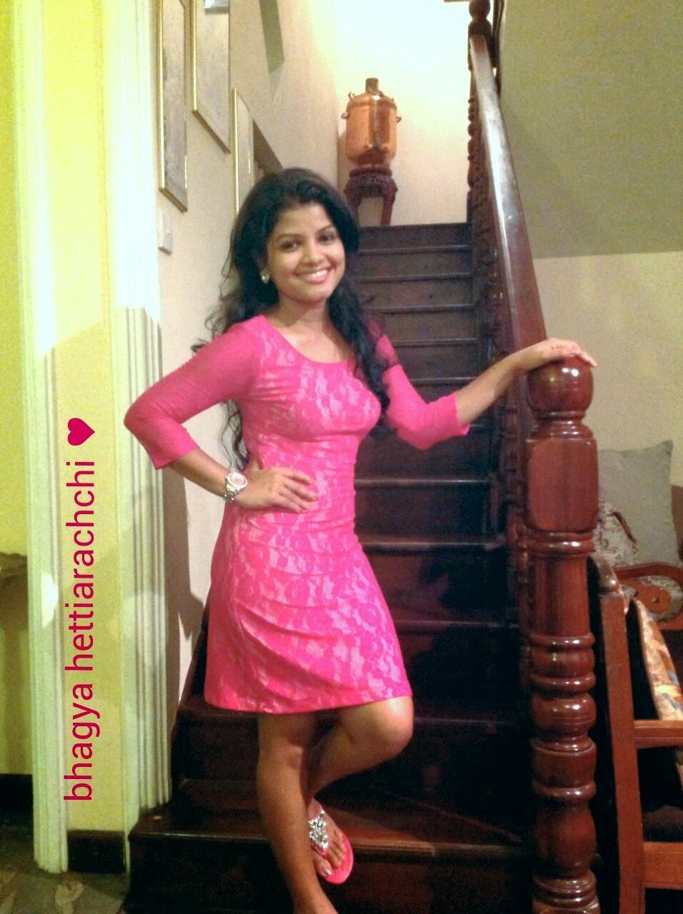 Bhagya Hettiarachchi pink