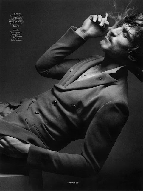 Jarrod Scott by Sølve Sundsbø for Vogue Hommes International Spring 2013-2