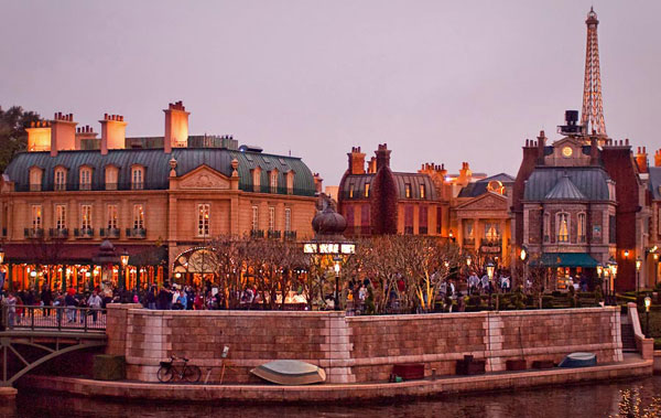The France pavilion in World Showcase at EPCOT.