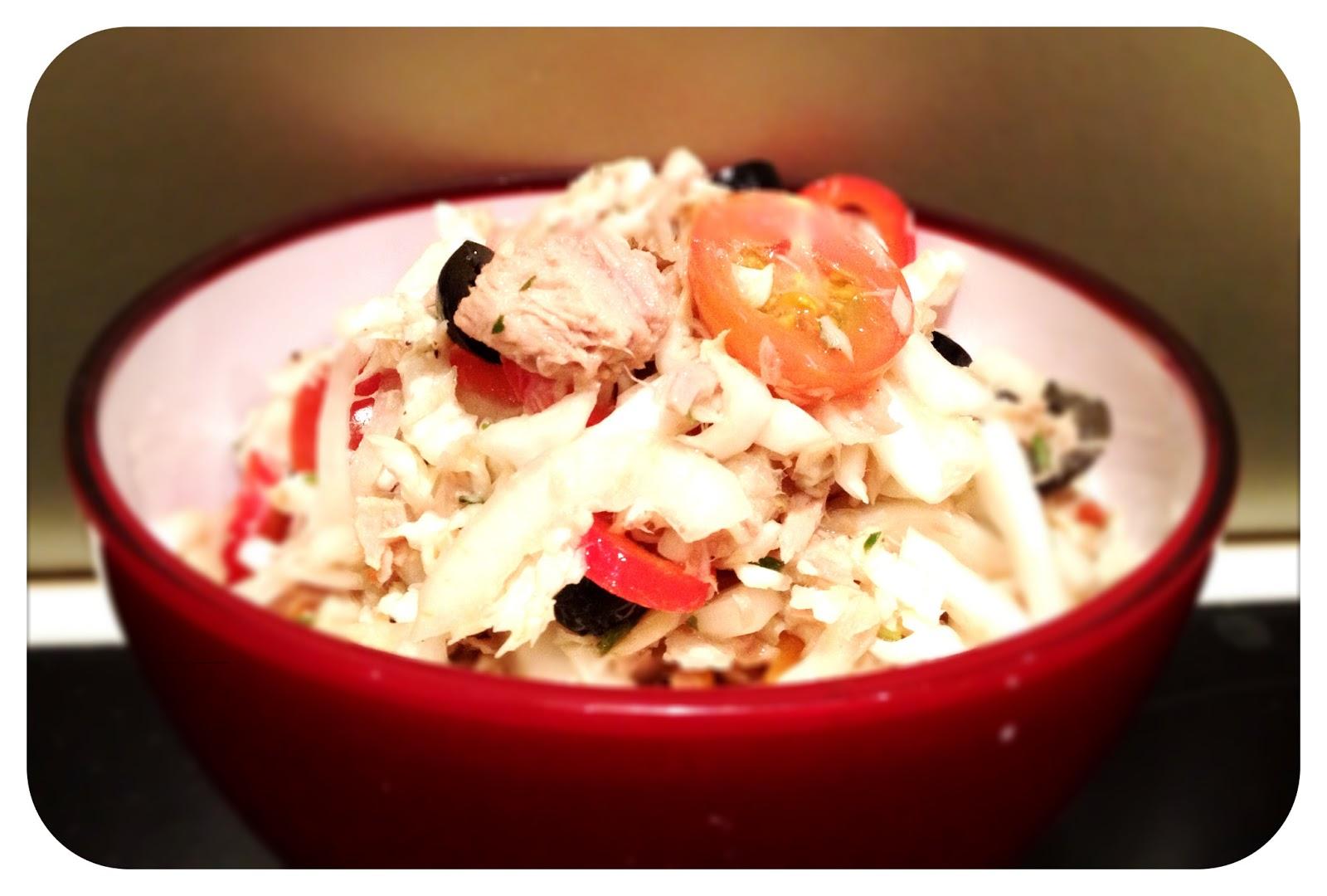 ein bisschen juni der lifestyleblog und foodblog aus ulm ju rezept chinakohl thunfisch salat. Black Bedroom Furniture Sets. Home Design Ideas