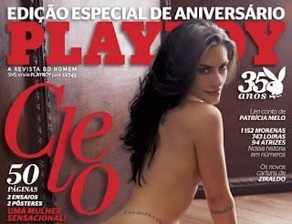 Playboy com Cléo Pires - A mais vendida dos últimos anos