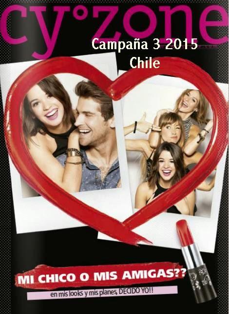 Catalogo Cyzone Campaña 3 2015 Chile