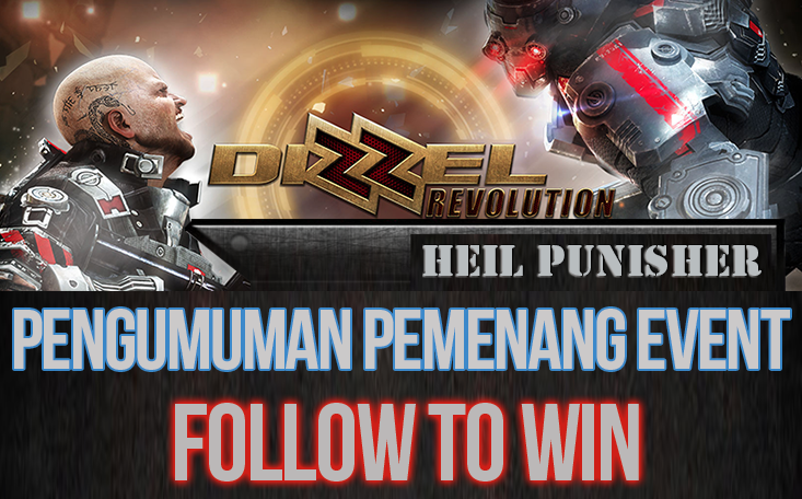 Pemenang Event Dizzel Indonesia Follow to Win