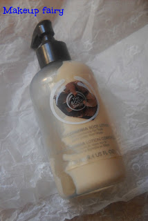 the body shop chocomania body lotion