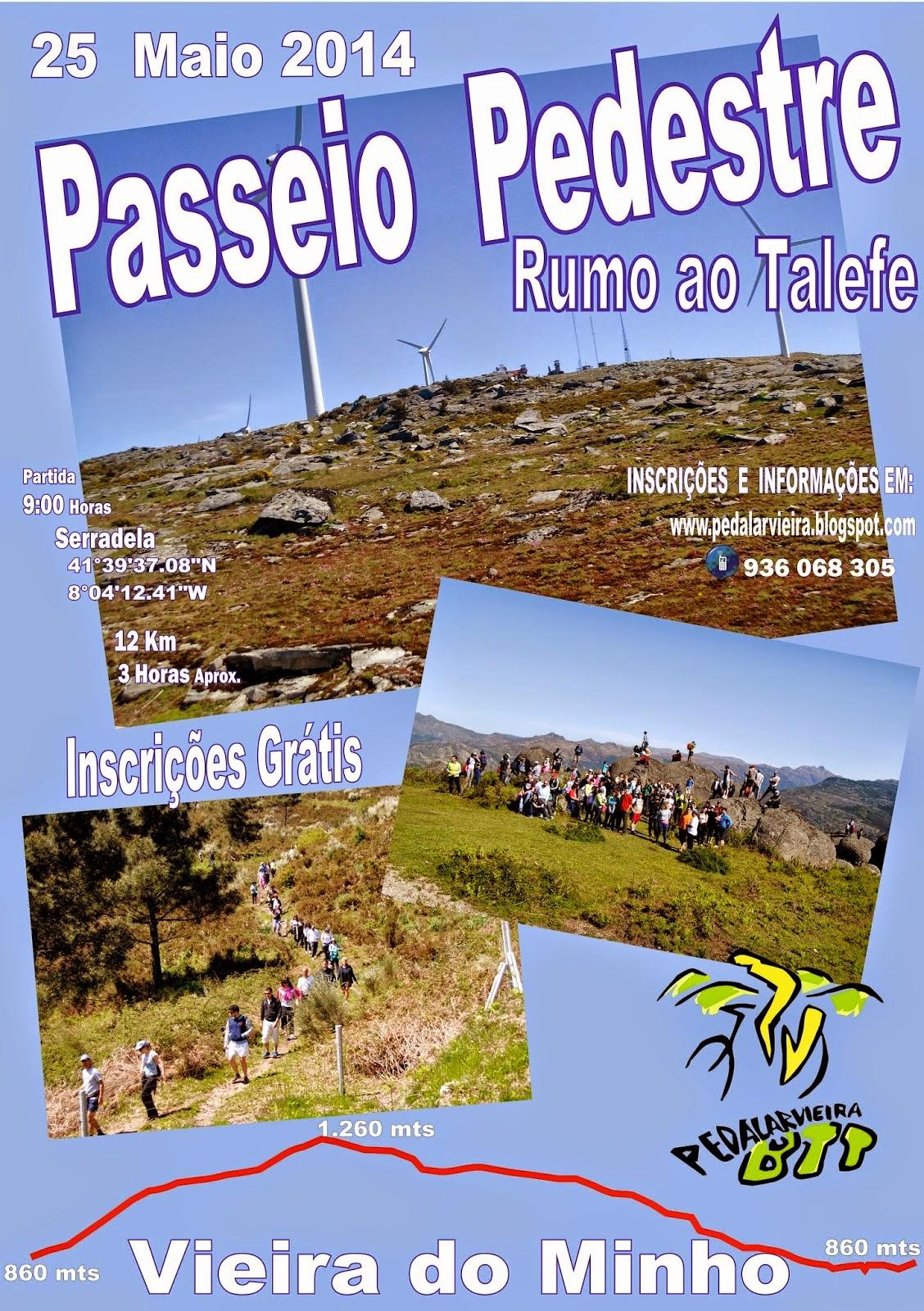 PASSEIO PEDESTRE RUMO AO TALEFE