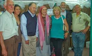 Durante la Feria del Libro de Atlántida 2011
