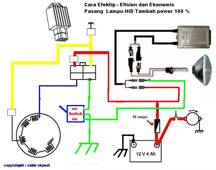 Wiring Diagram Motor Honda Supra : Wiring diagram honda supra lower unit