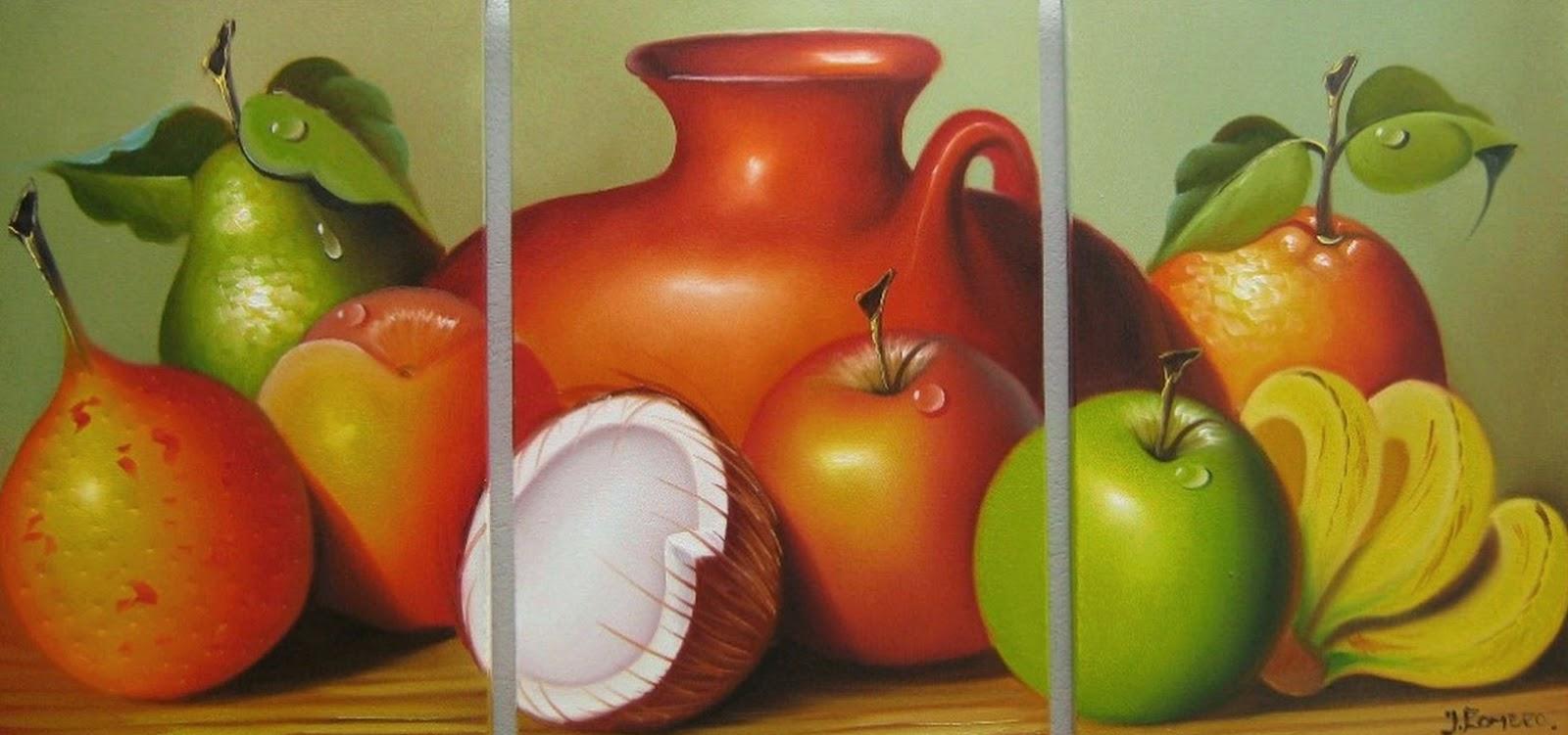 Cuadros modernos pinturas y dibujos cuadros de bodegones - Imagenes de cuadros para cocina ...