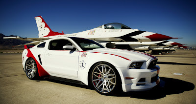 Ford offers one of a kind 2014 ford mustang thunderbirds edition for