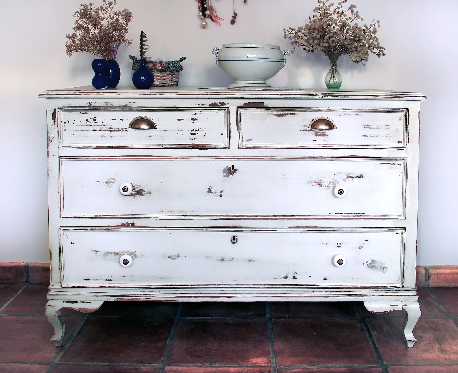 Dkp muebles shabby chic c moda en blanco - Muebles la comoda ...