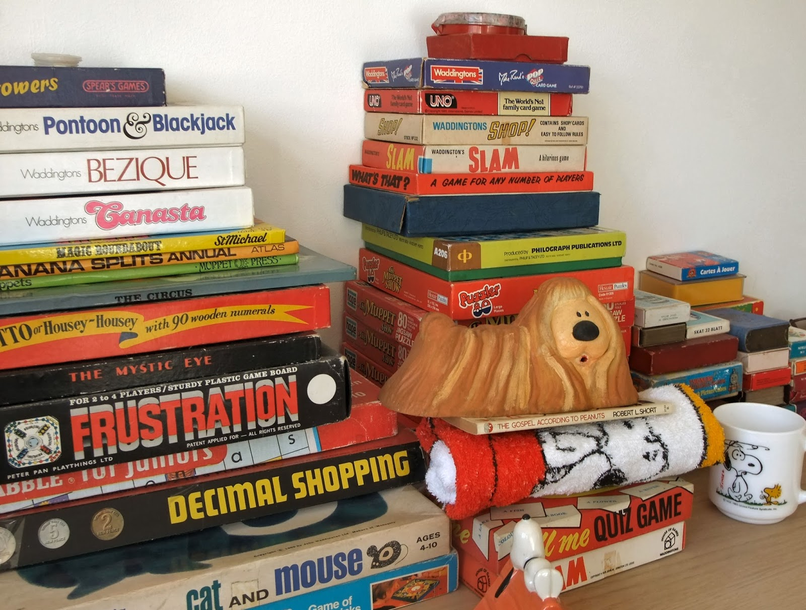 Vintage Toys And Games : Retrotrace vintage