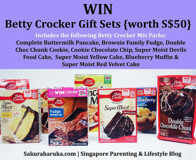 WIN Better Crocker Mix Hampers. Ends Fri 31/7
