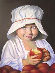 """""""Η μικρή Εύα έφαγε το μήλο και πονήρεψε"""""""