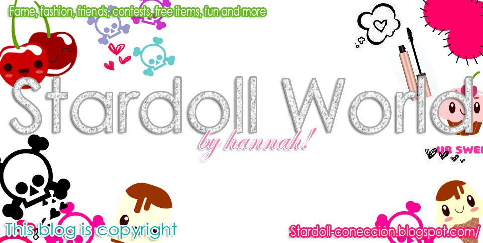 .-☆Stardoll World by Hanna!☆-.