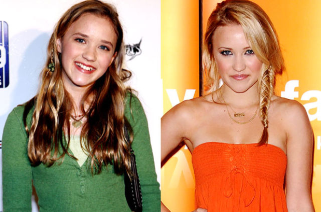 Famous Disney Stars - Young And Now