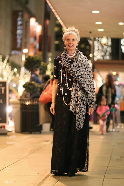 Vicki Alsip Nordstrom Seattle Street Style Fashion It's My Darlin' Polka Dot Sequins