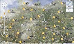 Der Wetter-Layer in Google Maps