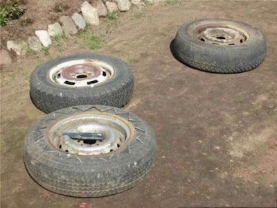 ماذا تصنع بالاطارات والعجلات القديمة-ابداعات البشر-منتهى