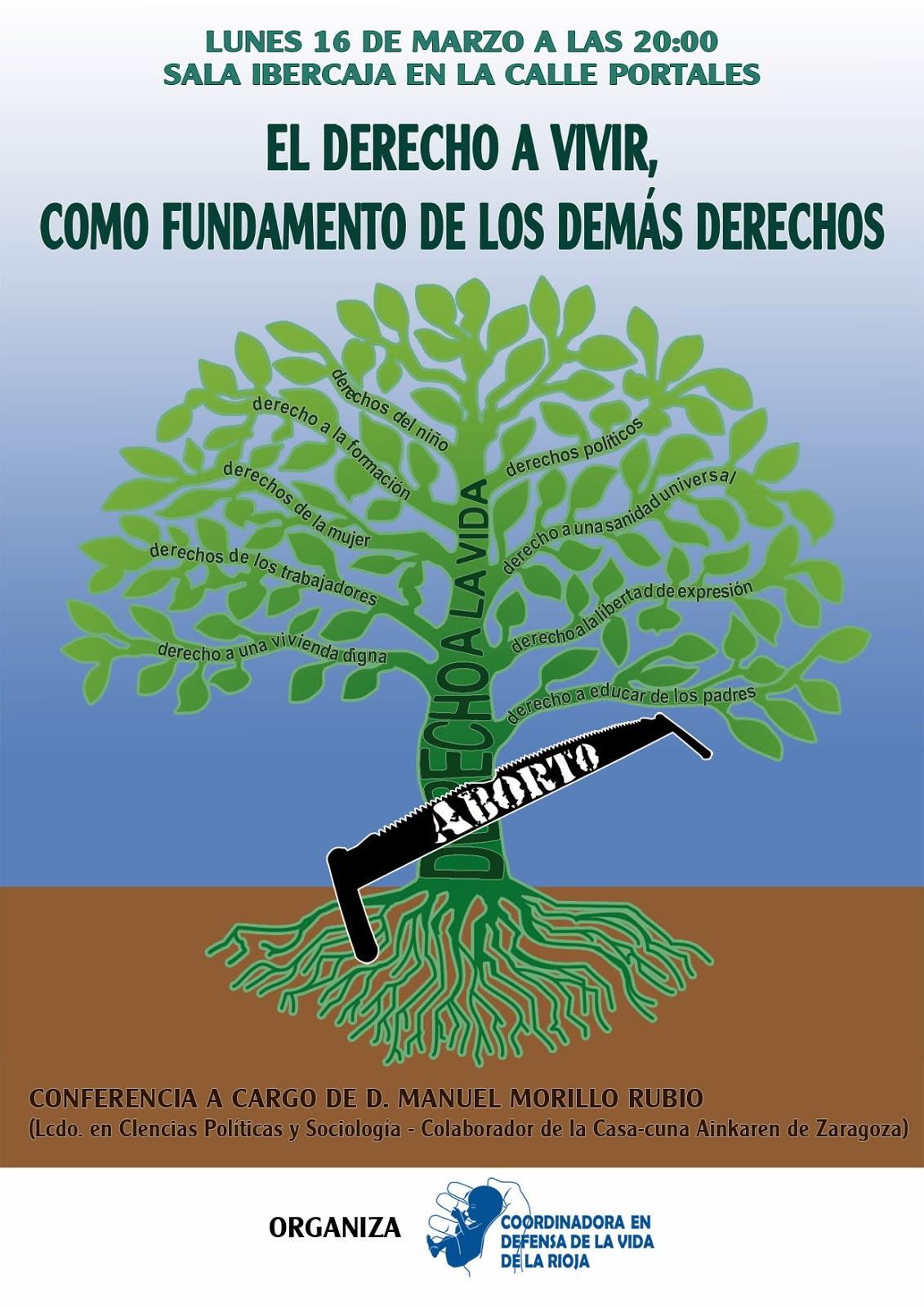 Un árbol cuyo tronco es el derecho a la vida y sus ramas el resto de derechos
