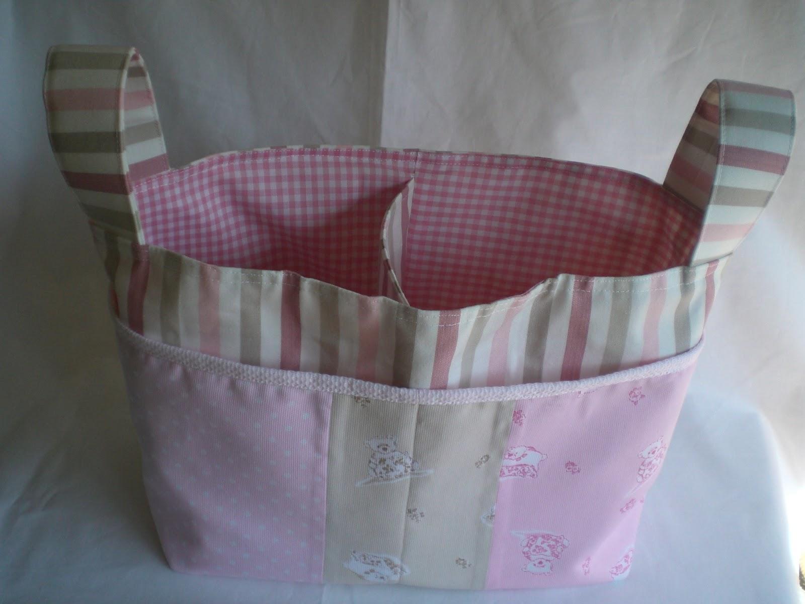 Fabulosity forever neceser cesta para bebe - Cestos de tela ...