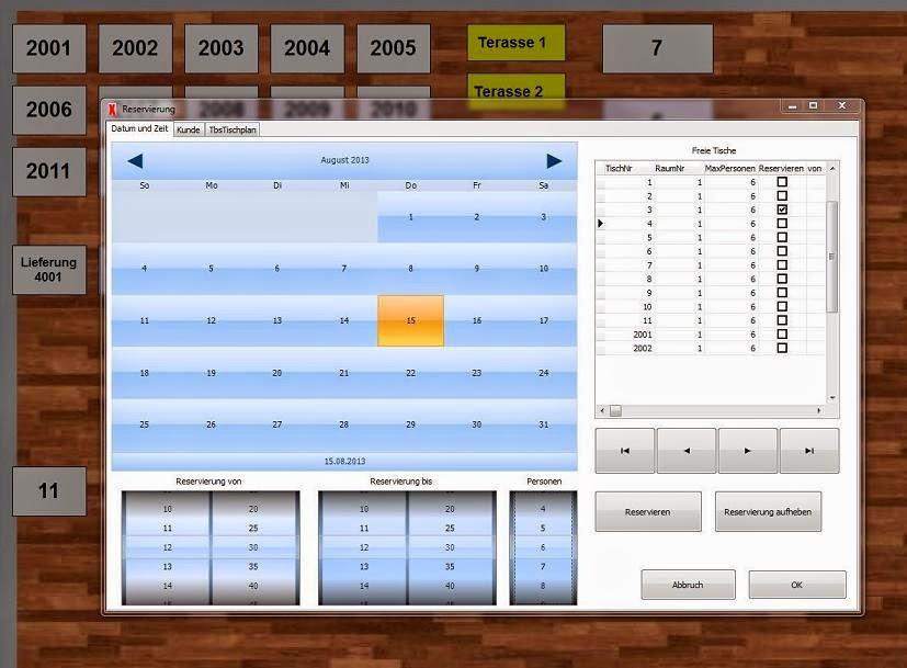 Kassen Gastronomie Software 4