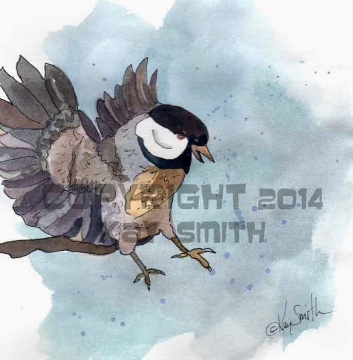 Chickadee landing - photo#4