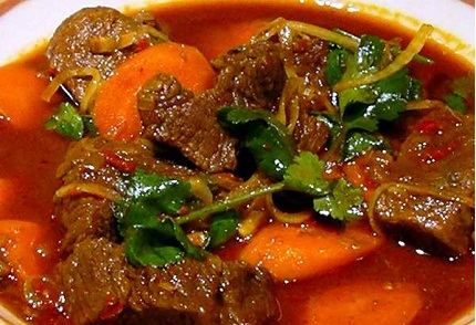 Bo Kho (Spicy Vietnamese Beef Stew) Recipes — Dishmaps