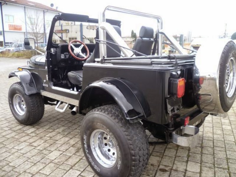 Modifikasi Mobil Jeep CJ-7 Tahun 87