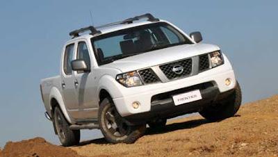 Fotos da Nissan Frontier 2013