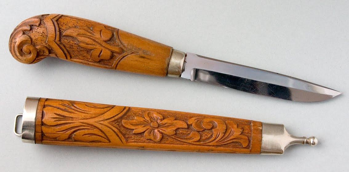Treskjæring kniv