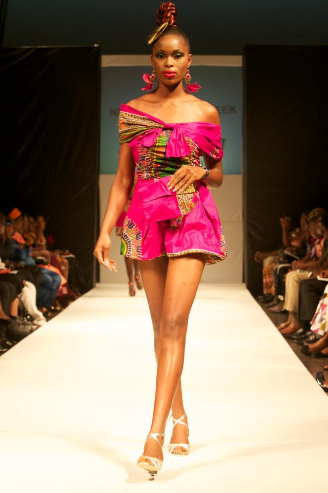 Nsuk Gossiplyn Nigeria Fashion Week 2012 Going Green Again