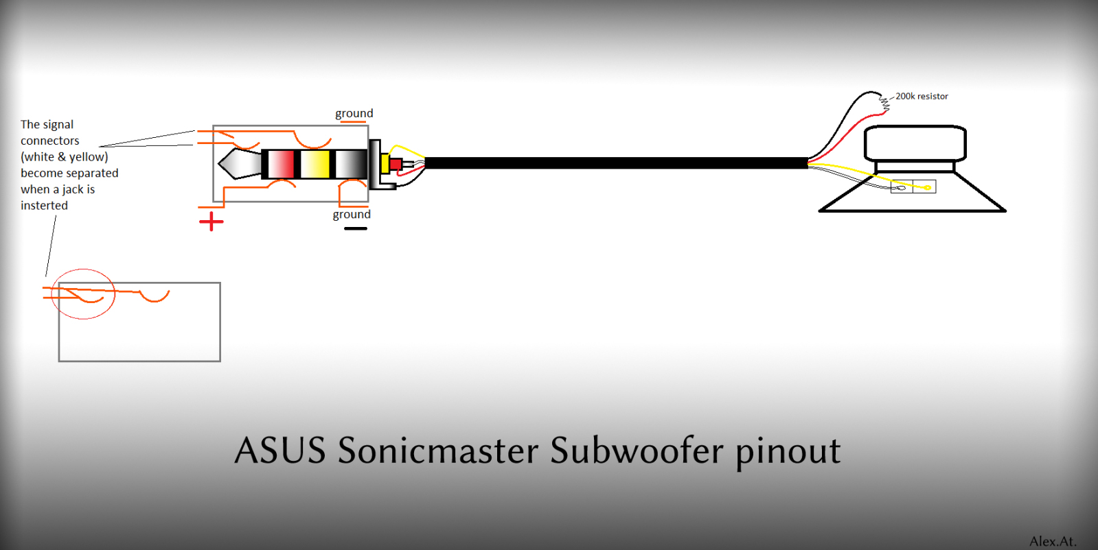 tech for passion  dismantle asus sonicmaster subwoofer